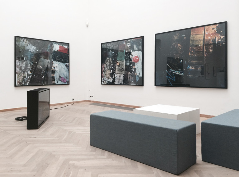 installation view, CHART 2014